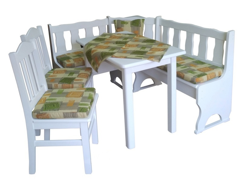 tischgruppe eckbankgruppe kiefer eckbank essgruppe mit. Black Bedroom Furniture Sets. Home Design Ideas