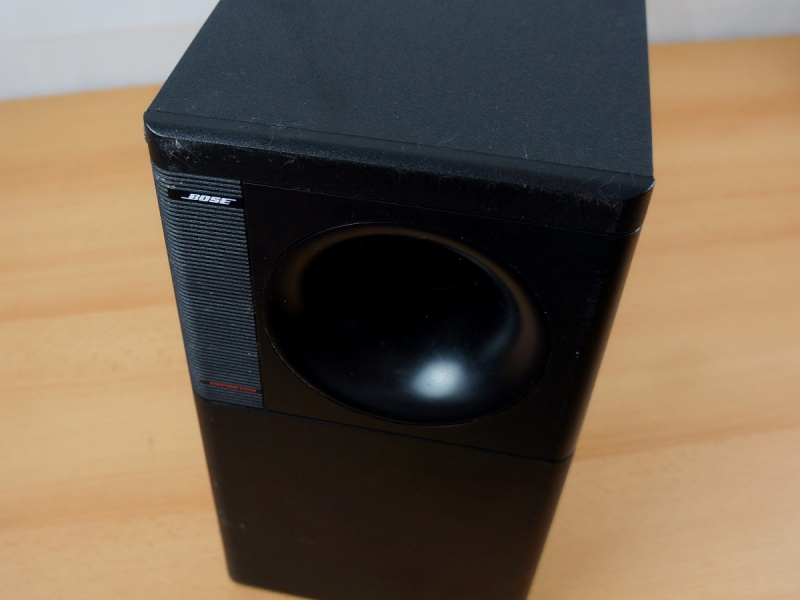 bose acoustimass 20 powered subwoofer aktiv ebay. Black Bedroom Furniture Sets. Home Design Ideas