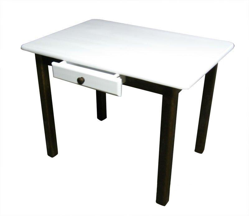 Table avec tiroir table de cuisine avec tiroir table en for Table de cuisine en pin