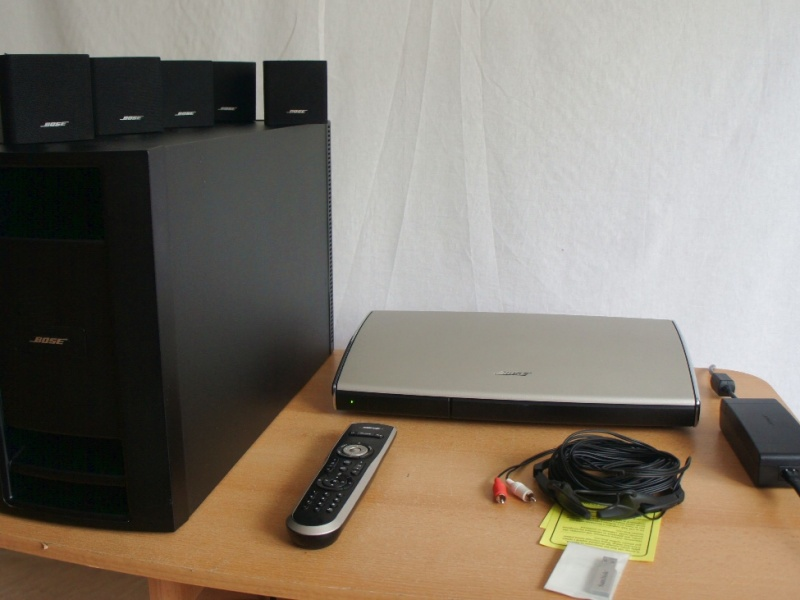bose lifestyle t 10 heimkino system ebay. Black Bedroom Furniture Sets. Home Design Ideas
