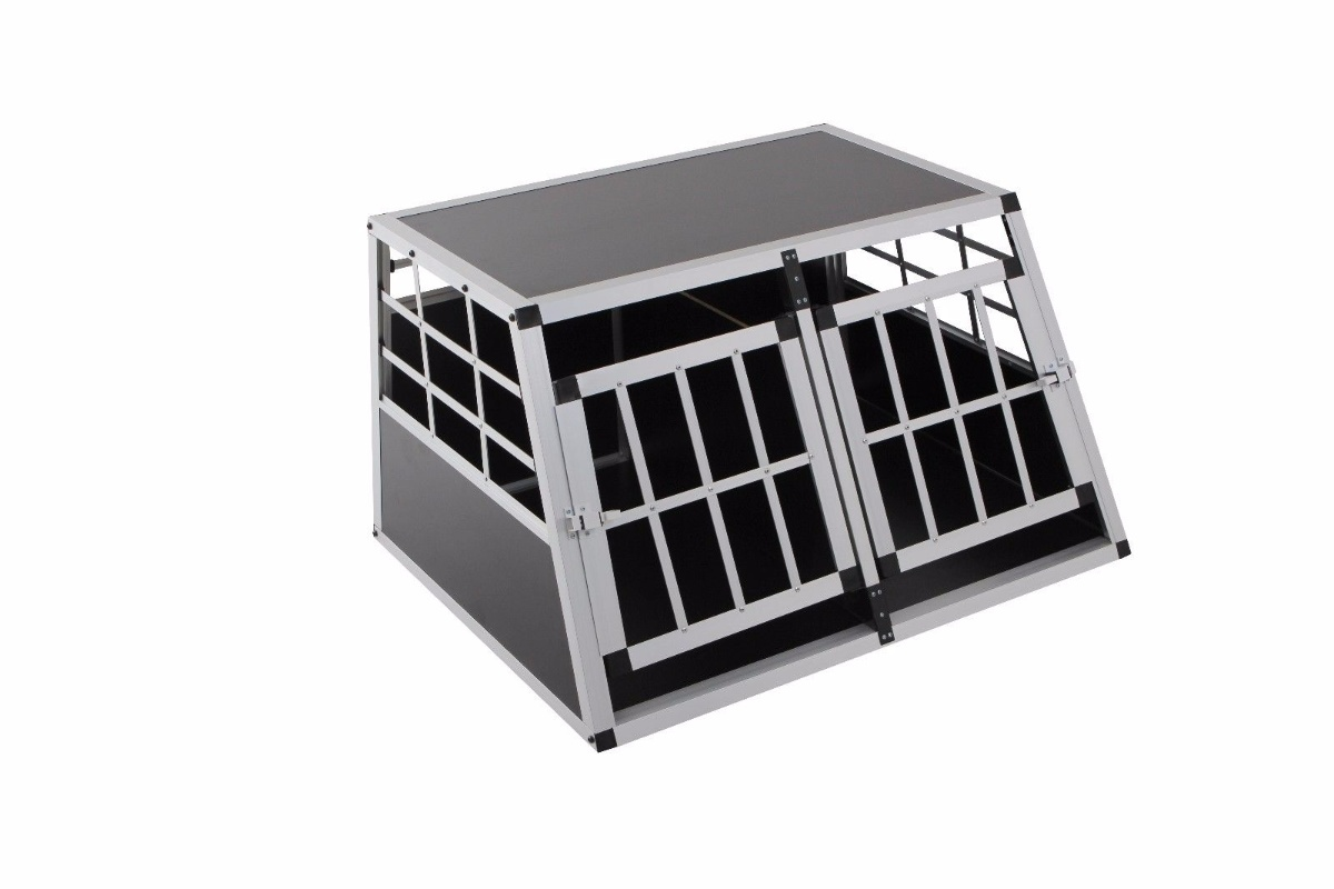 aluminium hundebox transportbox alubox hundetransportbox. Black Bedroom Furniture Sets. Home Design Ideas