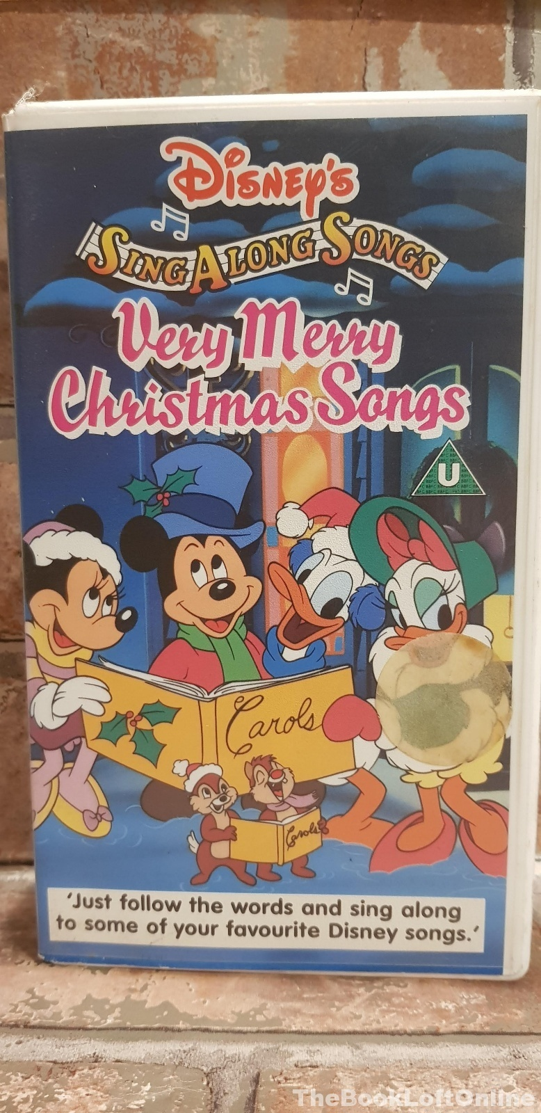 Disney's Sing Along Songs Very Merry Christmas Songs VHS Video Tape ...