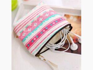 1 Pcs Fashion Style Zipper Coin Pouch Small Wallet Makeup Bag Key Pouch Gift UK