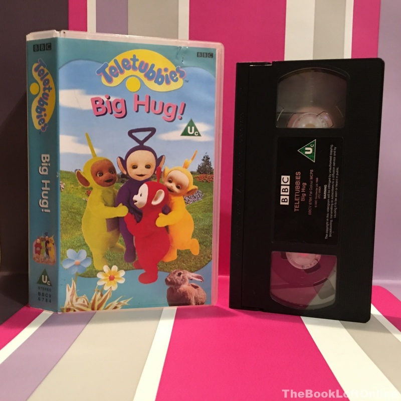 Teletubbies: Big Hug VHS Video Tape Cassette Vintage