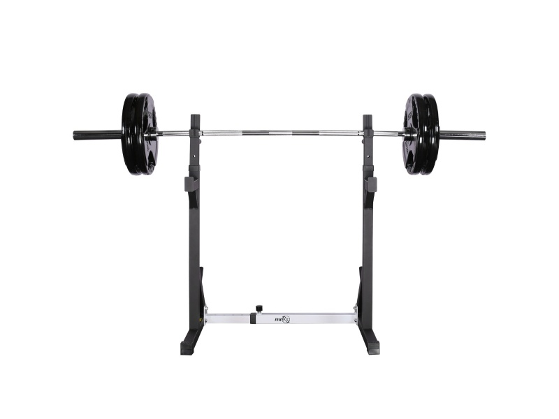 RIP X Adjustable Squat Rack Dip Stand Barbell Power Lifting Weight Bench Home