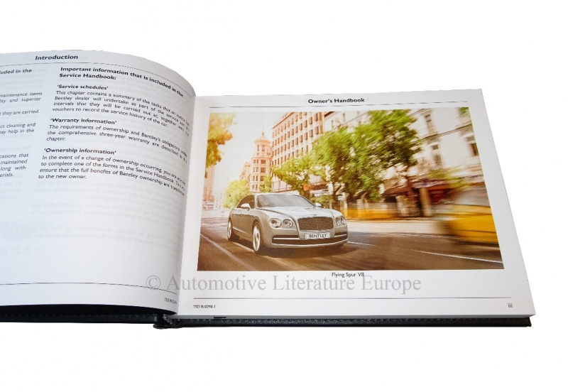 bentley flying spur owners manual pdf
