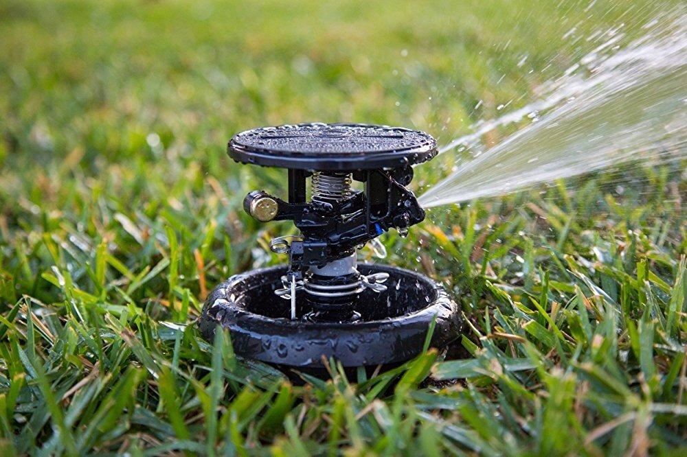 **Lot of 4** Rain Bird MAXI-PAW AG-5 Rotary Impact Sprinkler 5 Nozzles NEW FSH